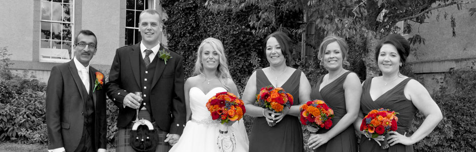 Wedding photography Inverurie, Aberdeenshire