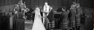 Wedding photography King's College, Aberdeen